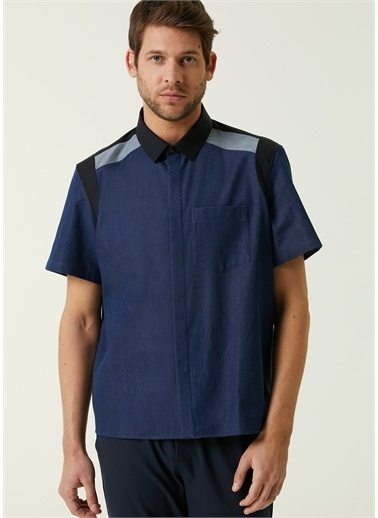 Neil Barrett Gömlek Mavi